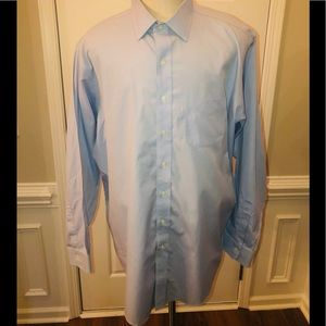 Brooks Brothers 1818 Men's Blue Traditional Fit